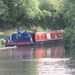 Canal Boat - Cruising the River