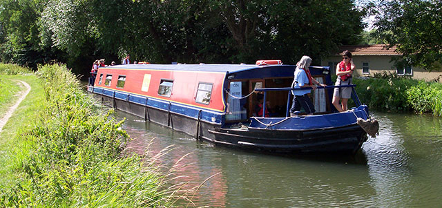 Red Watch Holiday Canal Boat