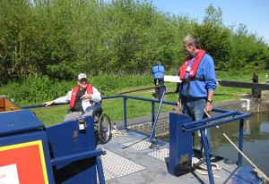 canal boat wheelchair