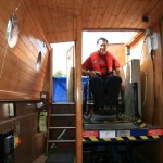 Stort Challenger Disabled Canal Boat - Lift