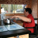 Stort Challenger Disabled Canal Boat - Galley
