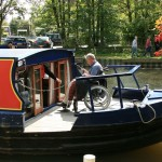 Red Watch Disabled Canal Boat - Foredeck