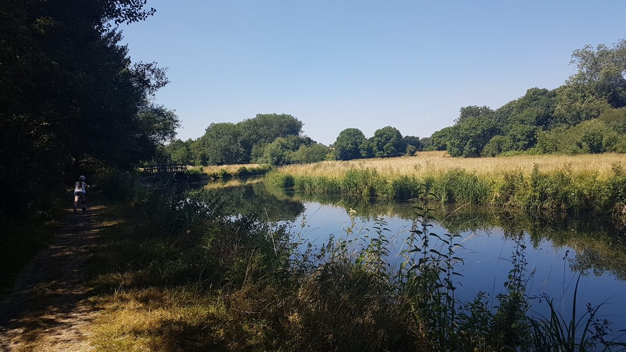River Stort near Spellbrook