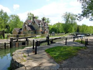 Feildes Weir Lock-by-Robin-Webster