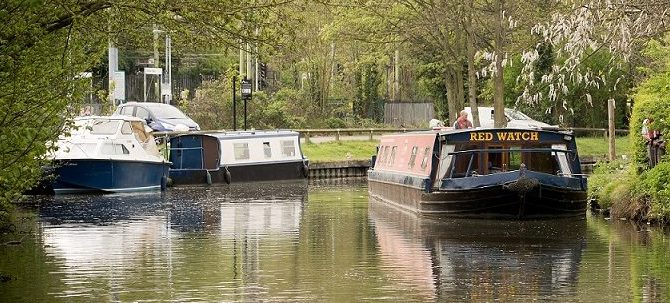 Red Watch our specially adapted canal boat exclusively for holidays